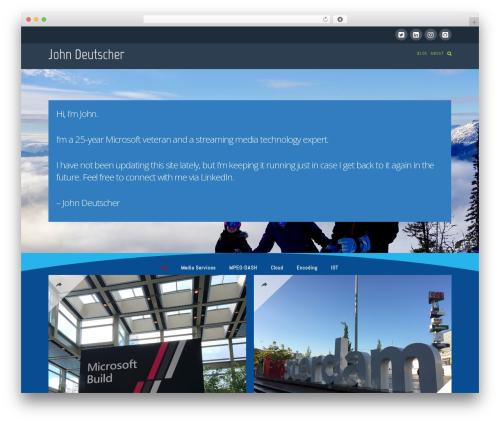 WordPress x-email-mailchimp plugin - johndeutscher.com