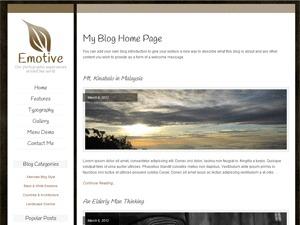 Emotive Pro WordPress blog theme