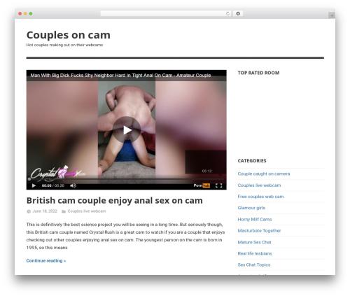 Mercia free WP theme - couplesoncam.co.uk