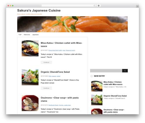 stinger3ver20131023 WordPress template - j-cooking.com