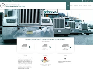 Trucking V8 template WordPress