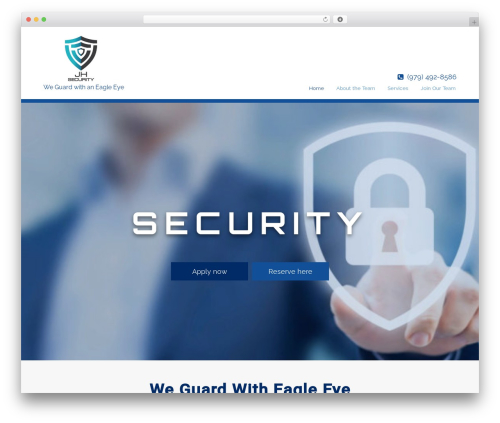 WordPress theme Pharmacy - jandhsecurity.com