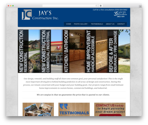 Acoustic template WordPress - jaysconstructioninc.com