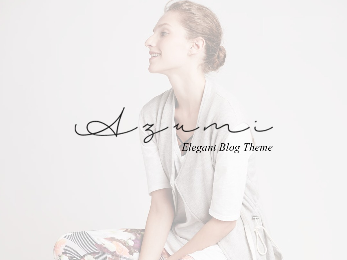 azumi WordPress blog template