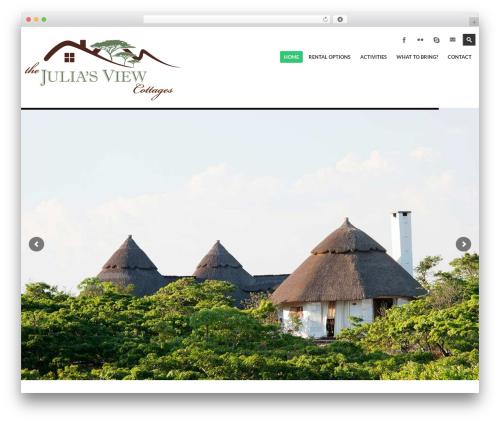 kimmia template WordPress - juliasview.com