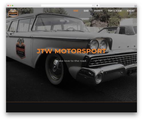 Loki theme WordPress - jtwmotorsport.ch