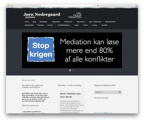 Swatch theme WordPress - jornnedergaard.dk