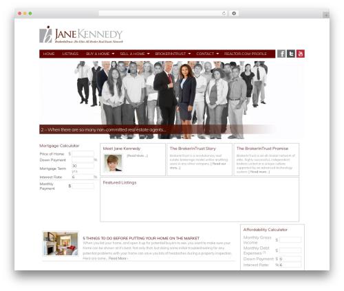 Theme WordPress Genesis - janekennedy.com