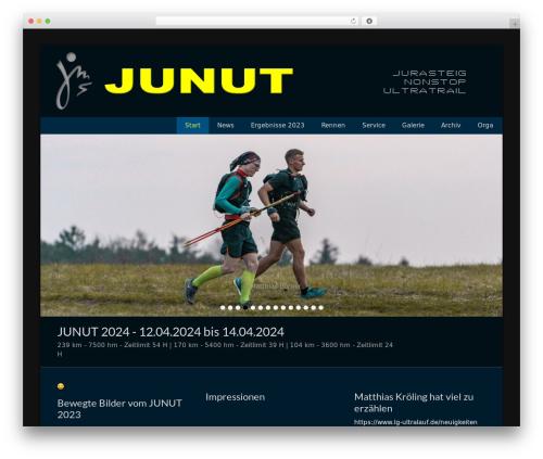 WordPress theme Catch Base Pro - junut.de