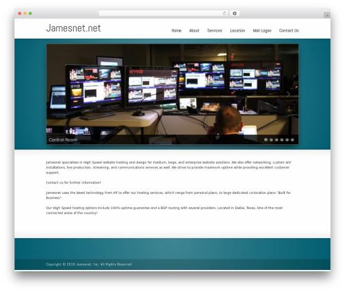 WordPress theme Striking MultiFlex & Ecommerce Responsive WordPress Theme - jamesnet.net