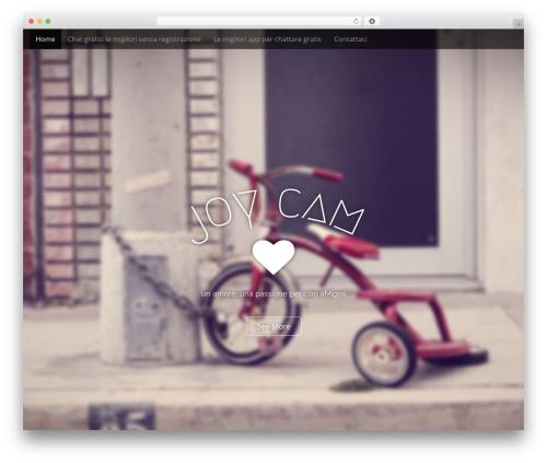 Arcade Basic WordPress movie theme - jcam.it