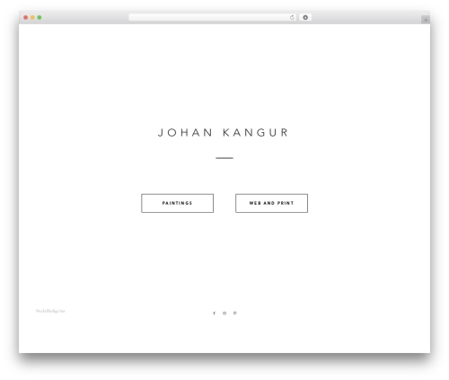 Enfold best WordPress theme - johankan.com