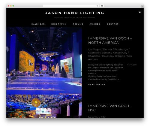 Free WordPress Rimons Twitter Widget plugin - jasonhandlighting.com
