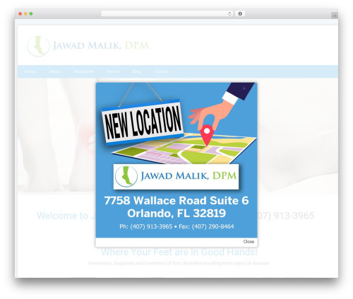 Health-Center-Lite free WP theme - jawadmalikdpm.com