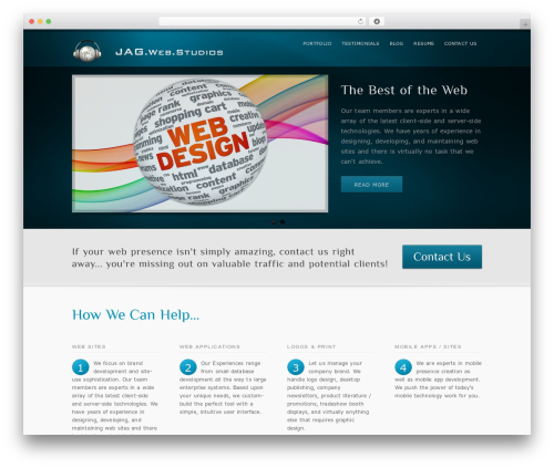 inFocus_3_0 WordPress theme - jagwebstudios.com