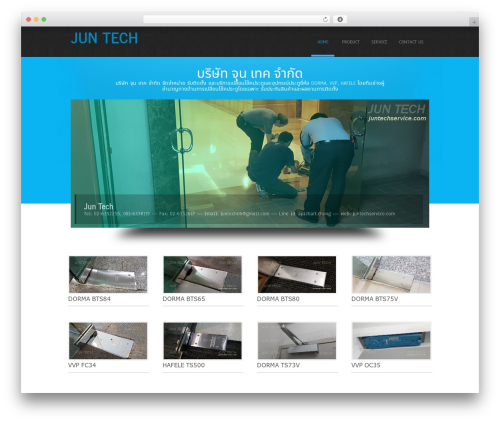 Simplicity Lite WordPress template free - juntechservice.com