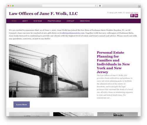 WordPress theme Enterprise Pro Theme - jfwesq.com