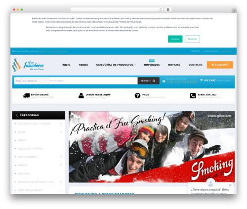 Mix Store WordPress shopping theme - parafumadores.com