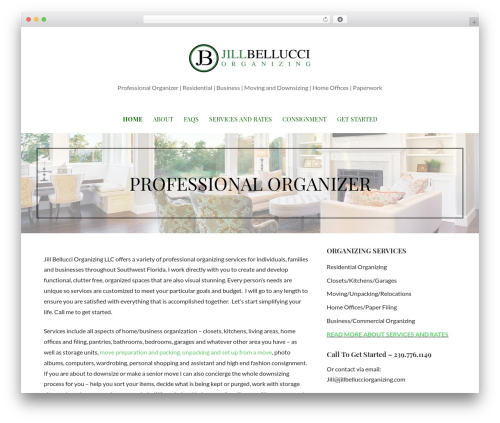 Primer theme WordPress free - jillbellucciorganizing.com