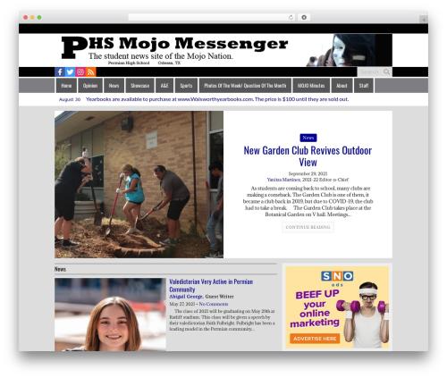 Free WordPress This Day In History plugin - phsmojomessenger.com