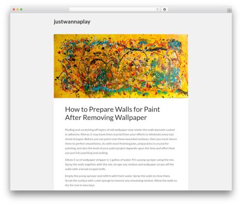Theme WordPress Vito - justwannaplay.com