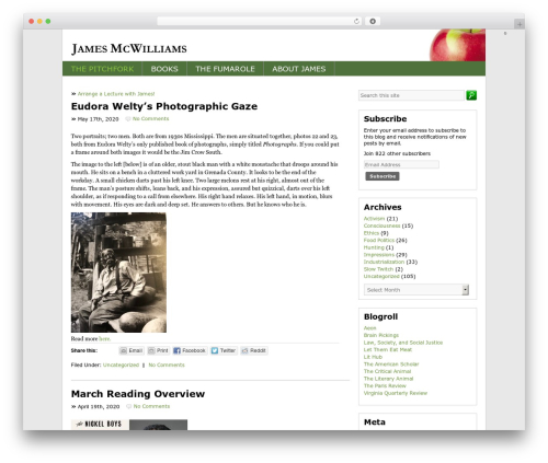 BLANK Theme theme WordPress - james-mcwilliams.com
