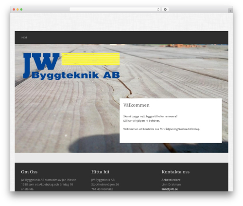 Free WordPress Image in Widget plugin - jwb.se