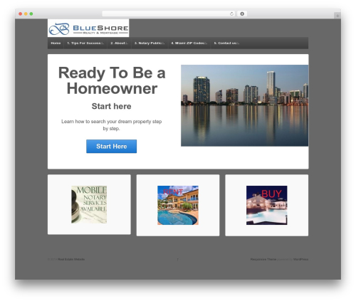 Responsive WordPress template free download - johntimoftyrealtor.com