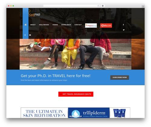 Tour Package WordPress theme - jetsetphd.com