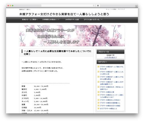 WordPress theme Unlimited Template 「Neo」 - jikkadeyo.net