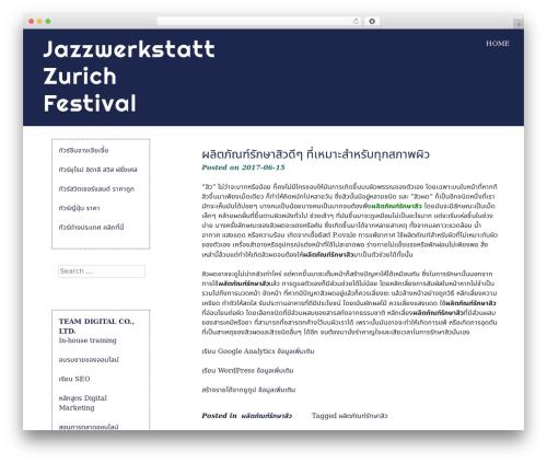 eyesite WordPress template free download - jazzwerkstatt-zuerich.ch