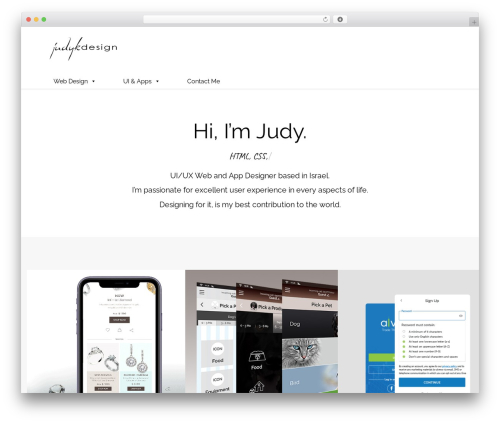 WordPress megamenu-pro plugin - judykdesign.net