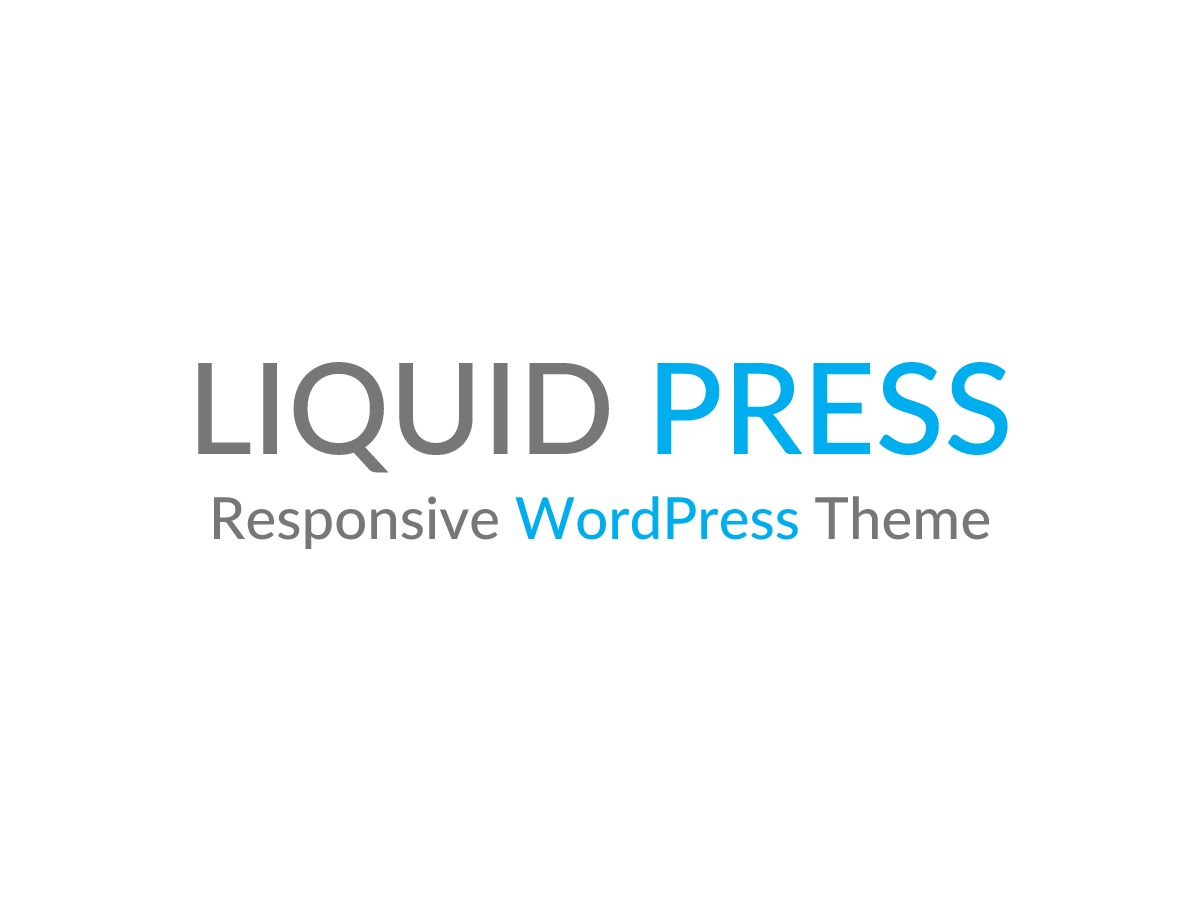 WordPress template LIQUID INSIGHT