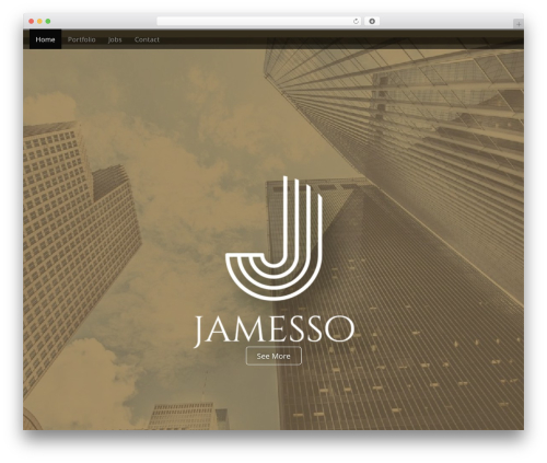 Arcade Basic best free WordPress theme - jamesso.com.au