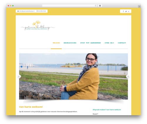 Best WordPress template Nomos - patriciaholtkamp.nl