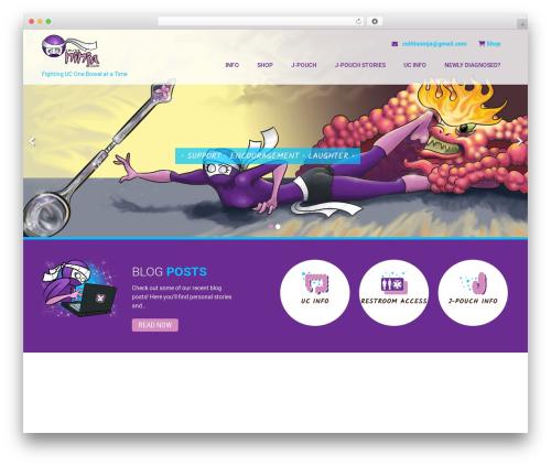 Best WordPress theme Coffee Pro - colitisninja.com