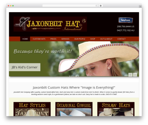 Catch Everest Pro premium WordPress theme - jaxonbilthats.com
