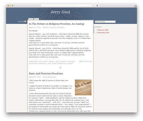 Disciple WP template - jerryguzi.com