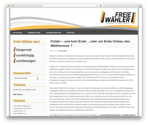Free WordPress Shariff for WordPress plugin - freie-waehler-philippsburg.de