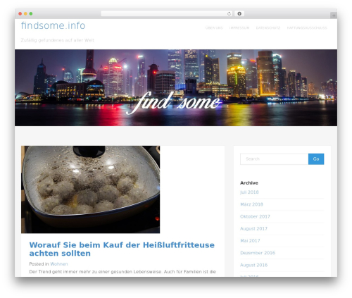 Atwood free website theme - findsome.info