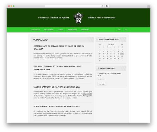 Best WordPress theme Sportimo Premium Theme - fvda.org