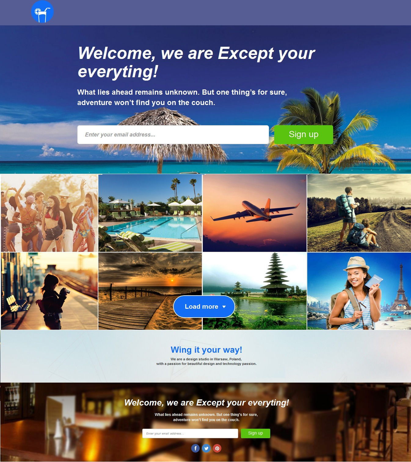 Deep best WordPress theme