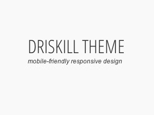 Driskill Child Theme theme WordPress