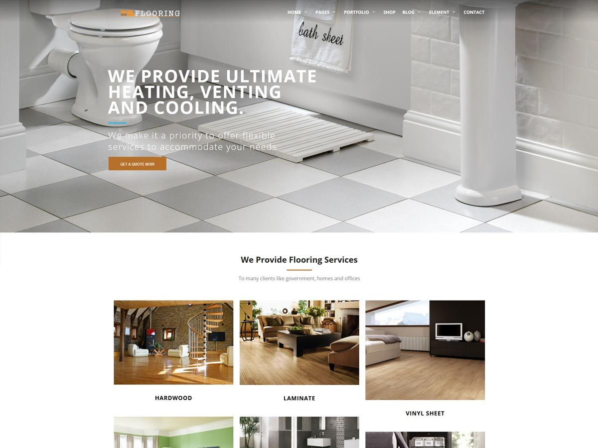 flooring theme WordPress