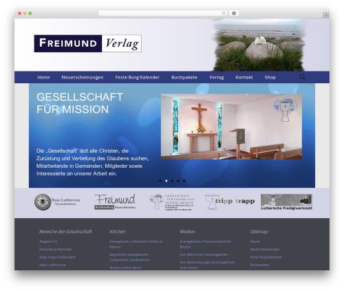 Free WordPress Page-list plugin - freimund-verlag.de