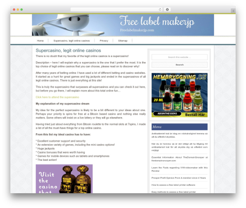 Innovative Child Theme best WordPress theme - freelabelmakerjp.com