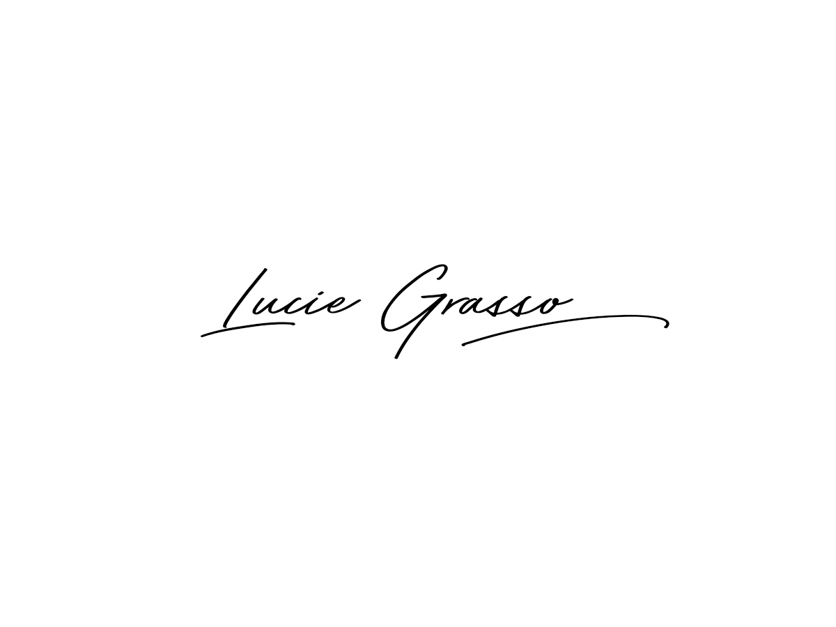 Lucie Grasso WordPress blog theme