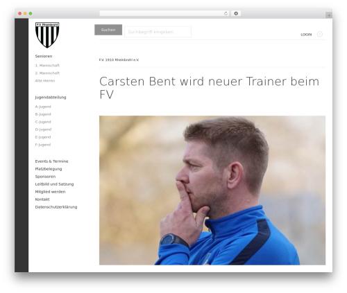 Magazine WordPress news template - fv-rheinbrohl.de