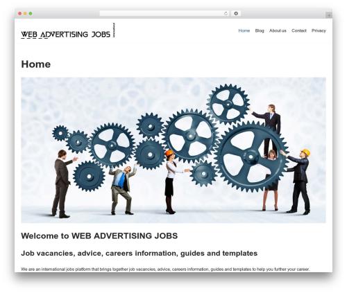 neve WordPress template - webadvertisingjobs.com