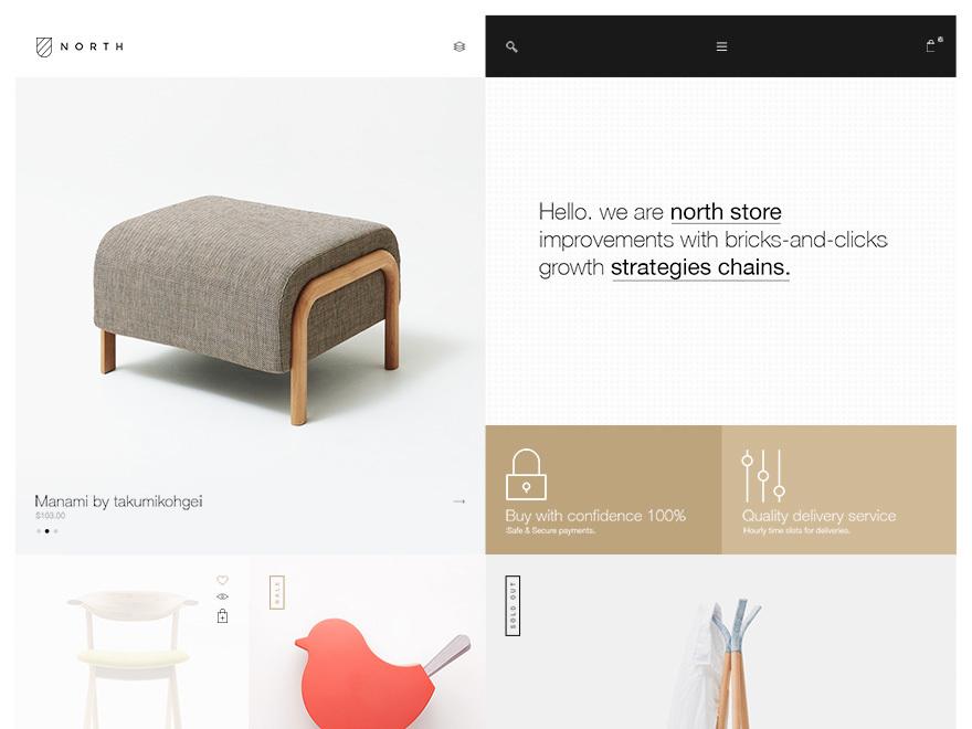 Noren WordPress shopping theme